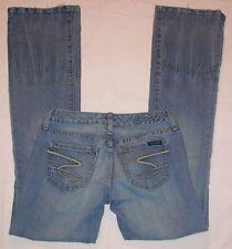 Seven 7 jeans sz 1 waist 25 light flare