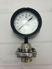 ASHCROFT Type 401 Threaded Diaphragm with 0-60 PSI Pressure Gauge