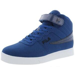 Fila Mens Vulc 13 High Top Lace Up Lifestyle Fashion Sneakers Shoes BHFO 0685