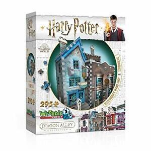 Wrebbit 3D Harry Potter Diagon Alley Ollivanders and Scribbulus 295 Piece Puzzle
