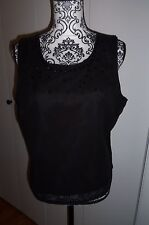 Boston Design StudioSequin Embellished Top/Tank Blouse    Sz 14   NWT