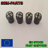 4pcs Black Great Britain Flag  Car Wheel Tire Valve Caps case for All Cars