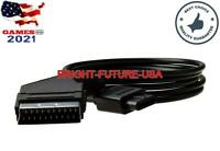 RGB Scart Cable NTSC for Nintendo 64 N64 SNES GameCube NGC Console