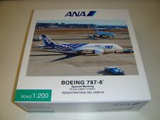 """1/200 Hogan ANA Official Boeing 787-8 """"Special Marking"""" JA801A NH20098"""