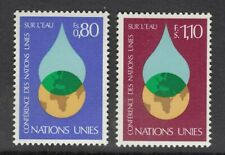 UNITED NATIONS - GENEVA HEADQUARTERS. 1977 U.N. Water Conference.  MNH