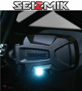 Seizmik Pursuit Night Side Mirrors for 2016-2021 Polaris General 1000 / 1000-4