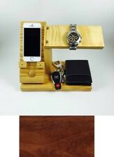 Products 4 Home Phone Charging Station Watch Stand and Valet Cherry Organizer