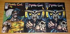 Mortal Coil #1-2 VF/NM complete series + ashcan MERMAID PUBLICATIONS