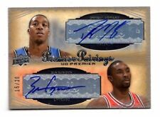 HOWARD / GORDON NBA 2007-08 UPPER DECK PREMIER PAIRINGS AUTO #/20 (BULLS/MAGIC)