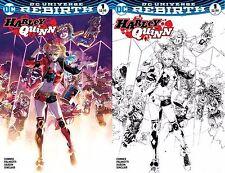 Harley Quinn 1 Philip Tan Exclusive Variant Color Sketch Set Rebirth Batman NM