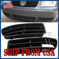 US LH+RH Front Lower Side Bumper Insert Grille For VW Jetta Bora MK4 1999-04 FM