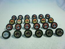 24 MONSTER JAM PLASTIC PARTY RINGS  (KVSFCP#1R0118)