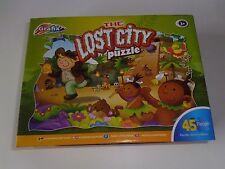 La città perduta Puzzle 45 PEZZI 3+ ANNI Nuovo di zecca.