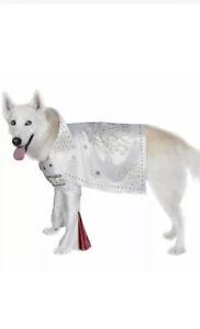 "Rubies R R Rock Star Elvis Dog Pet Halloween Party Costume Sz Small S 10-12"""