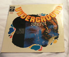 RARE SEALED! Underground Show - 1969 Italy Only with PINK FLOYD + Deep Purple