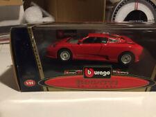 Burago 1/24 Bugatti EB 110 1991 OOP 0195