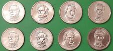 2010 US Presidential Dollar Set 4 P&4 D From Mint Rolls