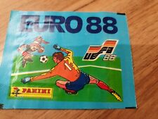 Panini euro 88 sealed unopened football sticker packet