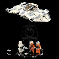 Display Stand Acrylglas Standfuss für LEGO 75049 Snowspeeder