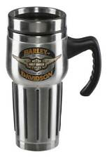 Harley-Davidson Core Winged Bar & Shield Travel Mug - Stainless Steel HDX-98610
