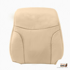 Front Left Lean Back Tan Leather Seat Cover Fits 2002 - 2006 Lexus ES300 ES330