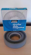 VINTAGE GNOME PHOTOGRAPHIC CIRCULAR SLIDE MAGAZINE REPLACEMENT ROTARY MAGAZINE