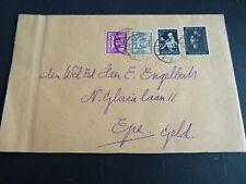 Nederland mengfrankering op brief Wijhe - Epe 1939