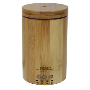 Now Foods Real Bamboo Ultrasonic Oil Diffuser FREE SHIPPING