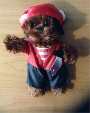 New 8-10 Inch Soft Brown Teddy Bear * Pirate Outfit *+ Accessories Complete #52