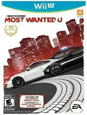 Need For Speed: Most Wanted U [Nintendo Wii U, Bonus Ultimate Speed Pack] NEW