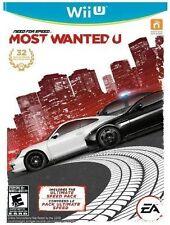 Need For Speed: Most Wanted U [Nintendo Wii U, Bonus Ultimate Speed Pack] NEW