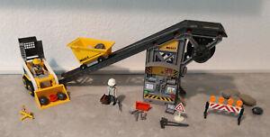 Playmobil 4041 Förderanlage mit Kompaktlader - - 4+