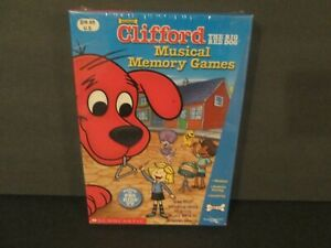 CLIFFORD THE BIG RED DOG  MUSICAL MEMORY GAME  SCHOLASTIC NIB
