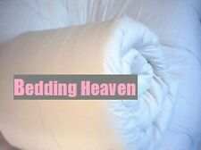Bedding Heaven 15 tog KING ALL SEASONS DUVET, NEW WHITE DUCK FEATHER. By FOGARTY