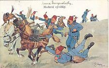 """Soldati, turchi, Sign. F. bello aratro """"conquiste moderna"""", per 1910"""