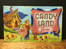 """RETRO STYLE COLLECTIBLE EMBOSSED METAL SIGN """"CANDY LAND"""" BOARD GAME"""""""