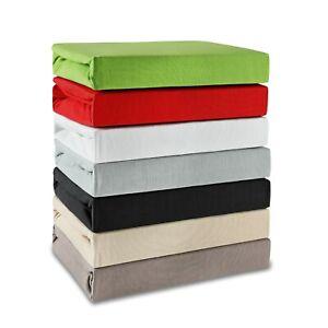 Bettlaken 100% Baumwolle Spannbettlaken 180x200 - 200x200 NEU im Angebot