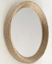 Handmade Nautical Hampton Style Round Rope Mirror Medium 50cm