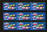 9 VENDSTAR 3000 VENDING MACHINE CANDY STICKERS LABEL  Free Shipping GUMBALLS