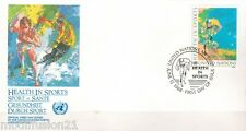 1988//FDC.ENVELOPPE 1°JOUR**VELO-NATIONS UNIES-NEW.YORK//TIMBRE.Y/T.N°519