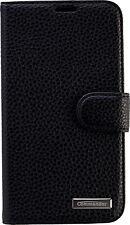 Commander Book Case Leder Handy Tasche Handytasche Huawei P8 Elite Schwarz Black