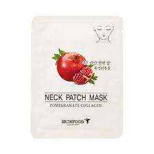 [SKINFOOD] Pomegranate Collagen Neck Patch Mask - 3pcs