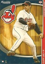 CLIFF LEE FATHEAD TRADEABLES CLEVELAND INDIANS TRIBE REMOVABLE STICKER 2009 #10