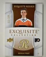 2019-20 ICE Black Diamond Update Exquisite 2005-06 Retro Morgan Frost RC /249