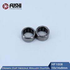 [10Pcs] HF1008 (10x14x8 mm) Bearing Drawn Cup Needle Roller Clutch HF101408