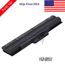 New listing Battery For Sony Vaio Vgp-Bps13/S Vgp-Bps13A/B Vgp-Bps13A/S Vgn-Fw11E Laptop New