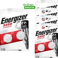 10 x Energizer CR2450 3V Lithium Coin Cell Battery 2450