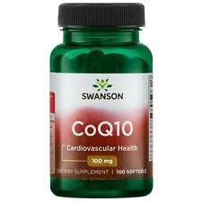 Swanson CoQ10 Softgels - 100 mg 100 Ct
