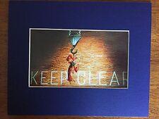 ROGER RABBIT & JESSICA~8 X 10 MAT PRINT~BEAUTIFUL RED DRESS & HAIR~KEEP CLEAR