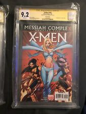 X-Men #205 CGC SS 9.2 J Scott Campbell Personal Collection W/ COA 1 Hope Summers